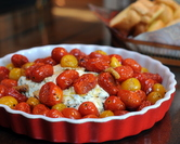 July - Herbed Ricotta with Roasted Cherry Tomatoes