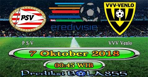 Prediksi Bola855 PSV vs VVV Venlo 7 Oktober 2018