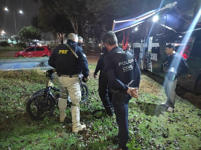 PRF e Polícia Civil realizam Operação Zero Álcool no RN; 25 pessoas foram multadas e 3 presas