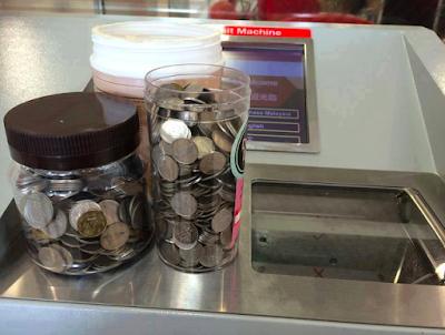 Cara Simpan Duit Syiling Ke Akaun Bank Guna Mesin Deposit Syiling Diseluruh Malaysia