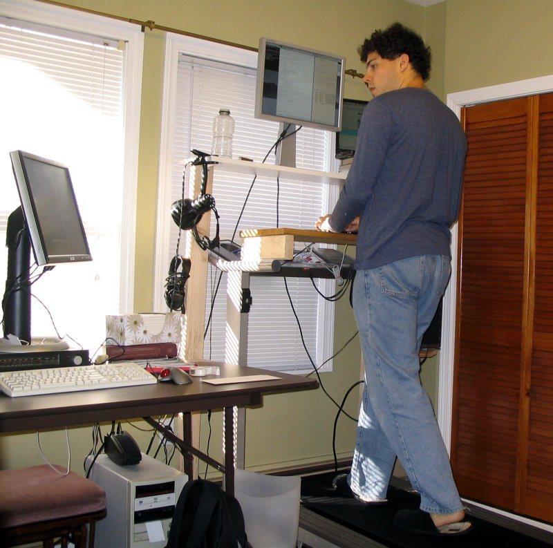 Listless Floor Plans Part 6 Scott 39 Office Closet Stand Sit Affordable Diy Adjustable Standing Desk