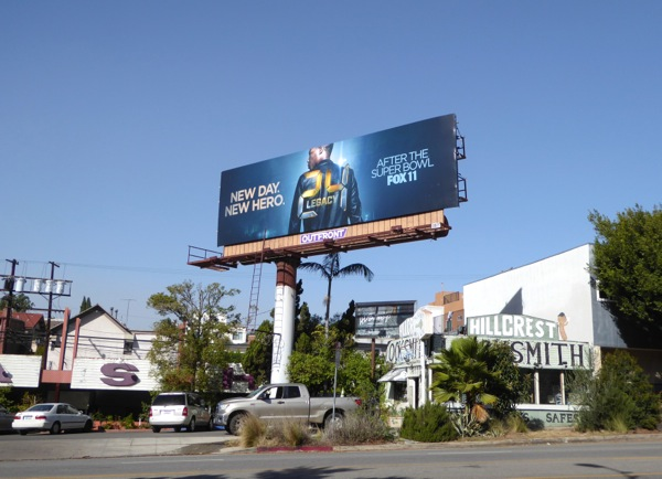 24 Legacy TV series billboard