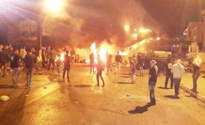 احتجاجات القصرين