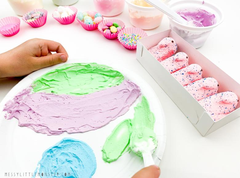 Edible art for kids