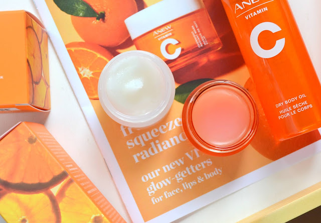 Avon Anew Vitamin C Collection Smoothing Lip Scrub and Lip Mask