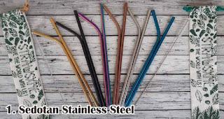 Sedotan Stainless Steel merupakan souvenir pernikahan yang ramah lingkungan