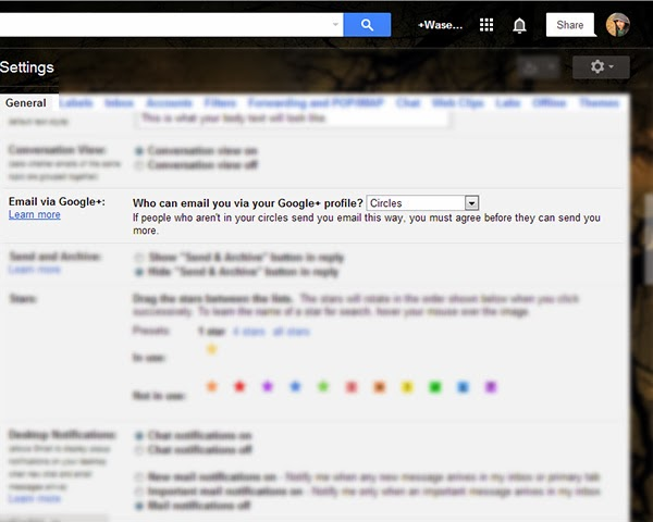 How to opt out of Google+ email receiving?