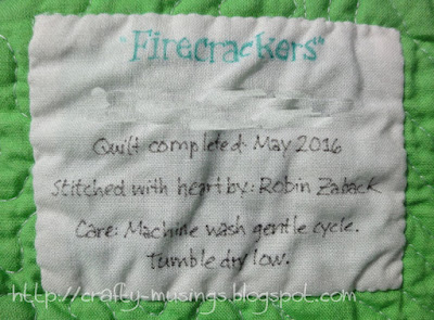 Firecrackers, label