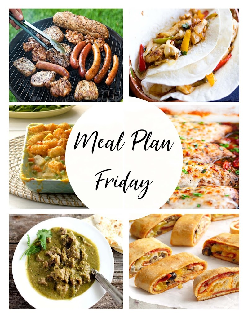 Meal Plan Friday - #4