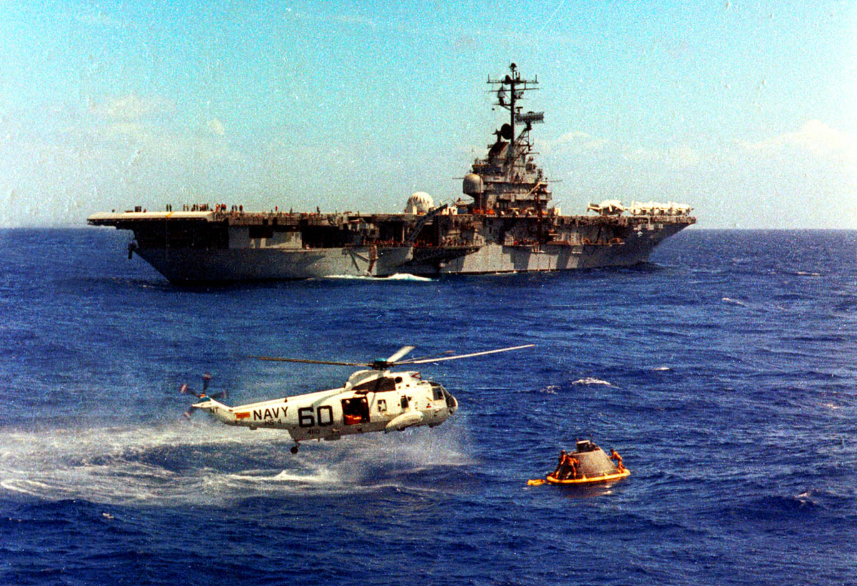 apollo 10 recovery ship - photo #10