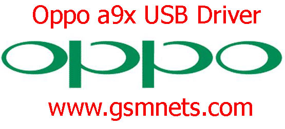 Oppo a9x USB Driver Download