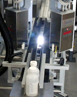 Serialization camera module integrated on a robotic case packer from ESS Technologies.