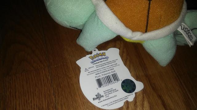 Pokemon Squirtle plushie mystery bag youmacon 2017
