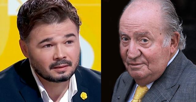 Rufián y Juan Carlos