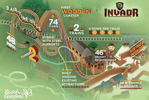 NewsPlusNotes: A Sneak Peek At Invadr, Busch Gardens Williamsburg\'s ...