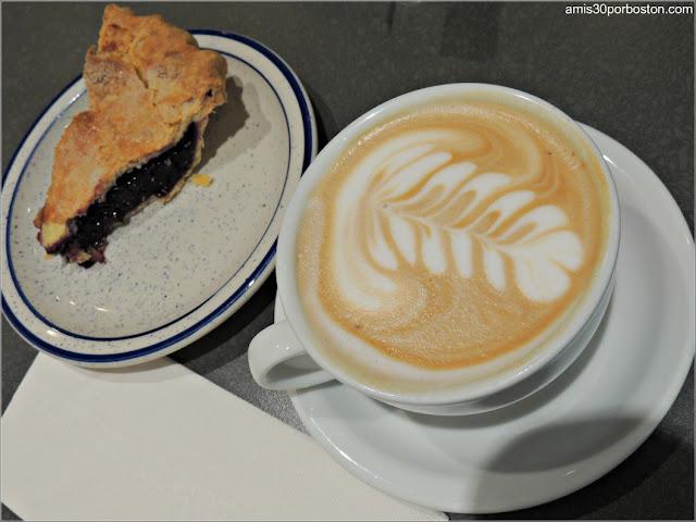 Desayuno en la Cafetería A Baked Joint, Washington D.C.