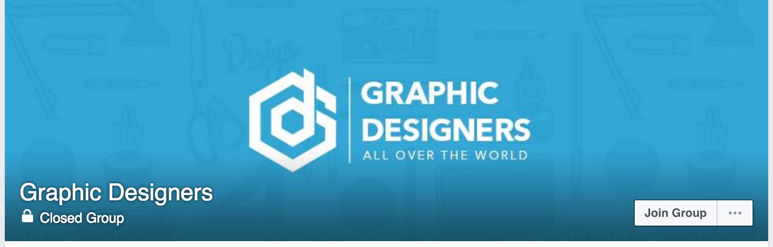 grup facebook Graphic Designers