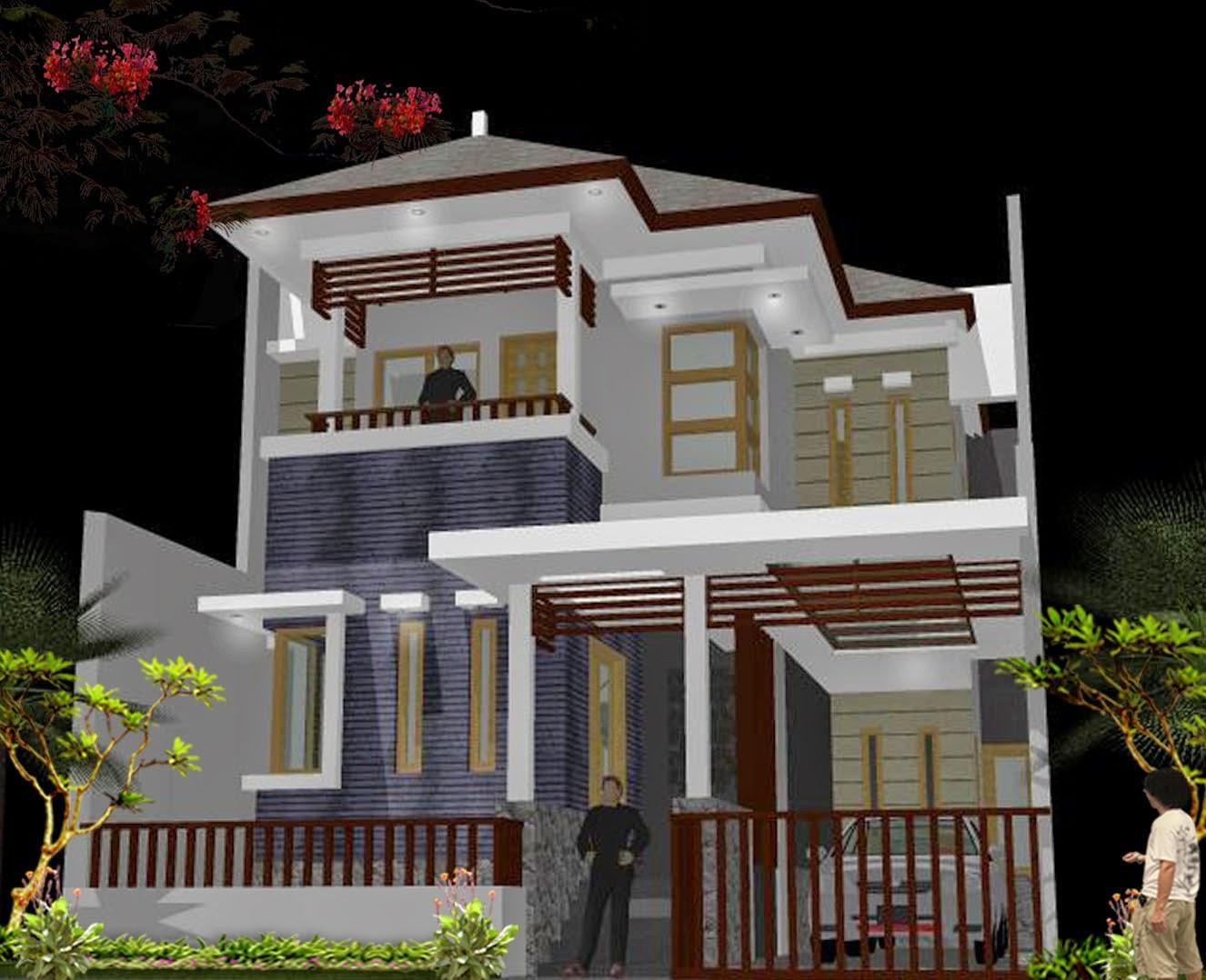 Rumah Minimalis 2 Lantai Model Eropa Expo Desain Rumah