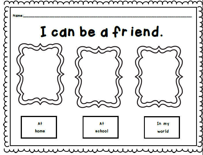 Pen pal writing activity for middle school