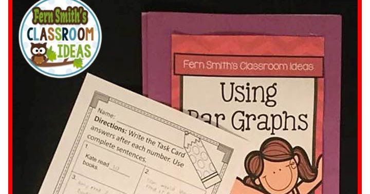 Classroom Ideas For Using Superflex ~ Using bar graphs task cards recording sheets and answer