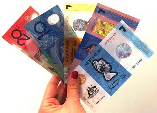 банкноты из полимерного пластика