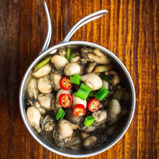 Menikmati Seafood sehat dengan Resep Sixi scallop