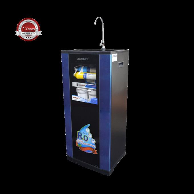 SANAKY RO WATER PURIFIER - 6 STAGE - BLACK - SNK0306C.BC.আপনারস্বাস্থ্যসুরক্ষায়আমরাএনছিআমেরিকানপ্রযুক্তির Water Purifier যাতেআছে Reverse Osmosis (RO) Technology.