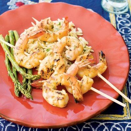 Italian Shrimp & Rosemary Spiedini Recipe
