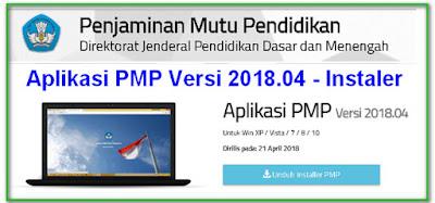 RILIS  APLIKASI PEMETAAN PMP VERSI 2018.04 TERBARU