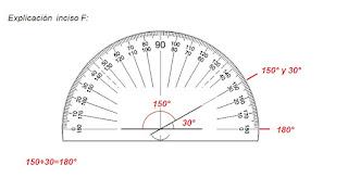 Respuestas Apoyo Primaria Desafíos Matemáticos 4to. Grado Bloque II Lección 38 Uso del transportador