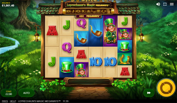 Main Gratis Slot Indonesia - Leprechaun's Magic Megaways Red Tiger Gaming