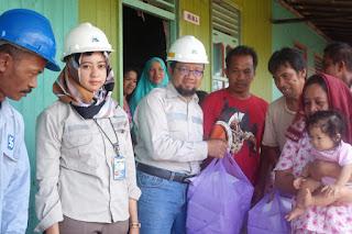 PT Silo Berikan Bantuan Langsung Kerumah Warga Korban Kebakaran
