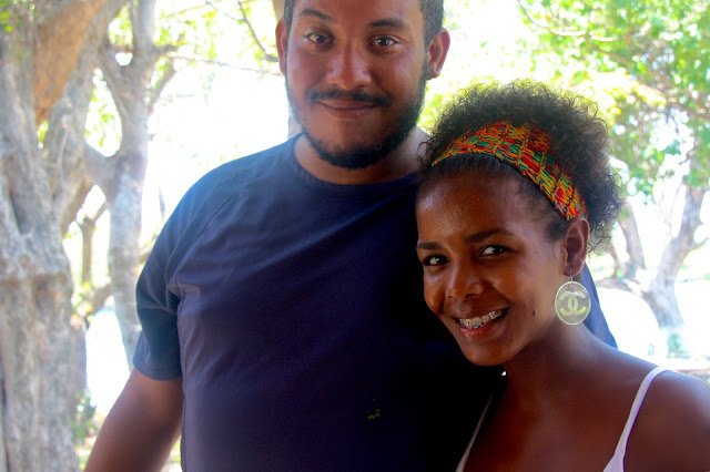 Turismo Comunitário na Isla Grande, uma ilha do arquipélago de Rosário, no Caribe Colombiano.