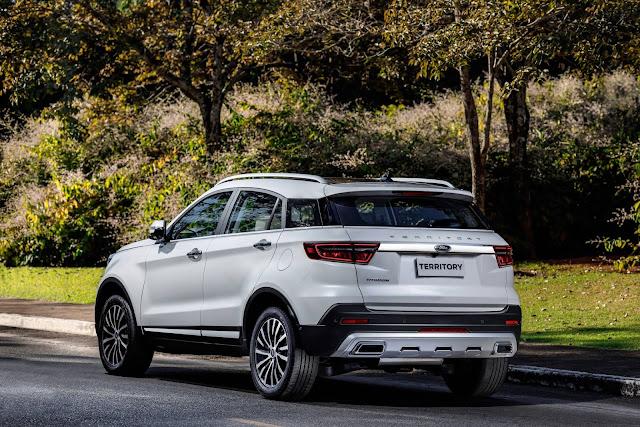 Ford comemora 250 Territory vendidas em 2 semanas