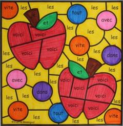 https://www.teacherspayteachers.com/Product/COLORIAGE-DE-MOTS-FREQUENTS-French-Color-by-Code-Sight-Words-BUNDLE-3038752