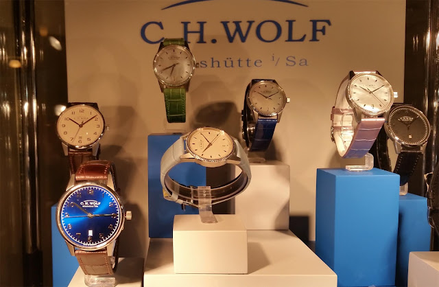 Glashütte watch models. My favorite is the one with the blue dial