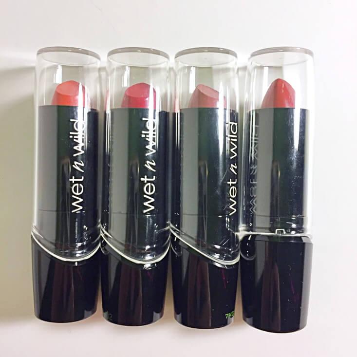 wet n wild Silk Finish Lipsticks