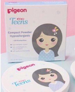 bedak padat Pigeon teens compact powder