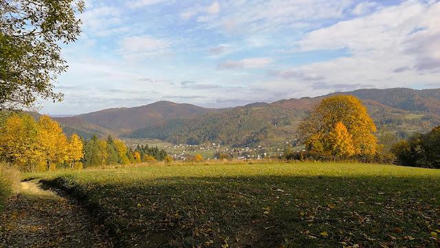 Jesien w Pieninach