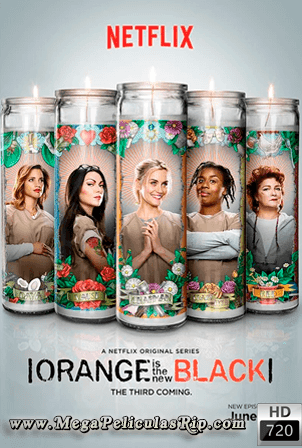 Orange Is the New Black Temporada 3 [720p] [Latino-Ingles] [MEGA]