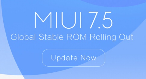 Update Global Stable MIUI 7.5 Redmi 2/PRO