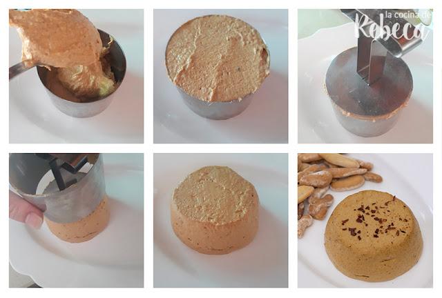 Receta de paté de mejillones: emplatado