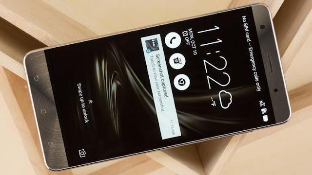 Cara Screenshot Layar HP Asus ZenFone Semua Tipe
