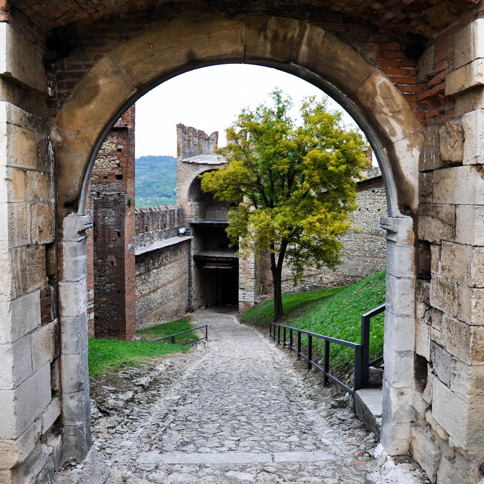 Inside Soave Castle, Soave, Veneto, Italy
