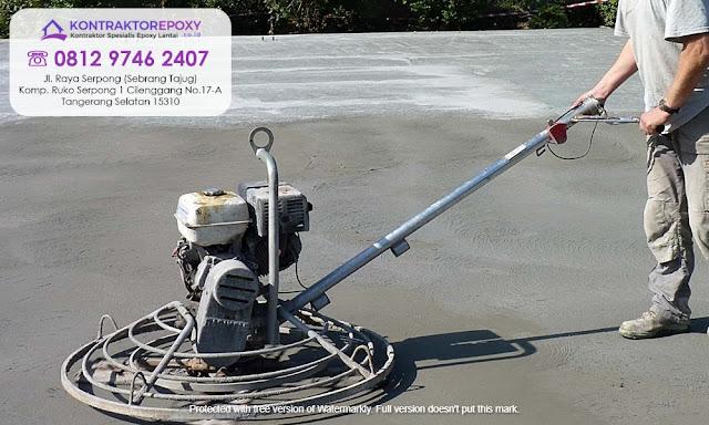 Jasa Floor Hardener Berpengalaman Magelang