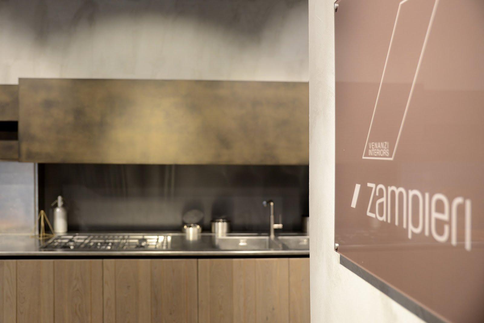 Arredo e design nuova showroom a roma di zampieri cucine for Showroom arredamento roma