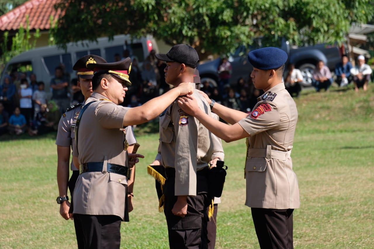 Kapolda Banten, Resmi Buka Pendidikan Pembentukan Bintara Polri Ta. 2019