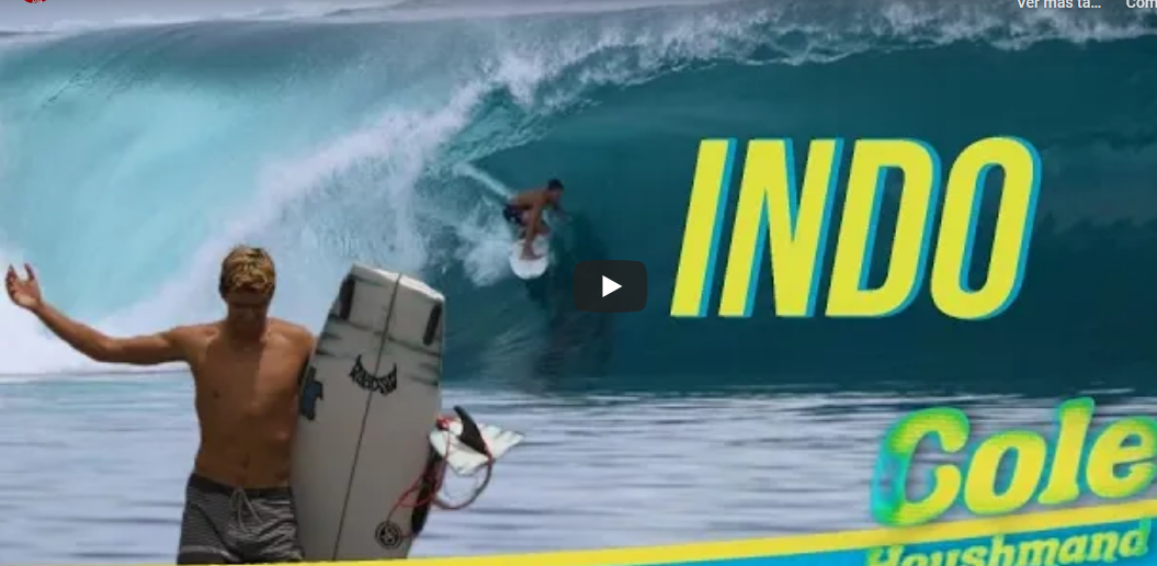 UNDER THE RADAR SCORING PUMPING WAVES IN INDO COLE HOUSHMAND