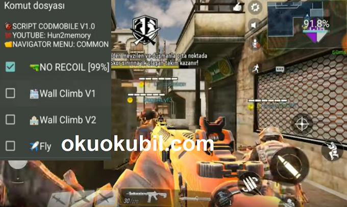 Call of Duty Mobile Hile Script Dürbün, Damage, Wallclimb Hilesi İndir