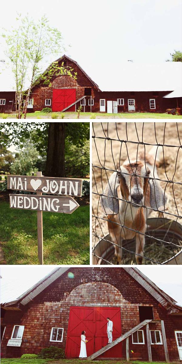 unique and personal rustic DIY wedding on working organic farm | photos by Kella McPhee